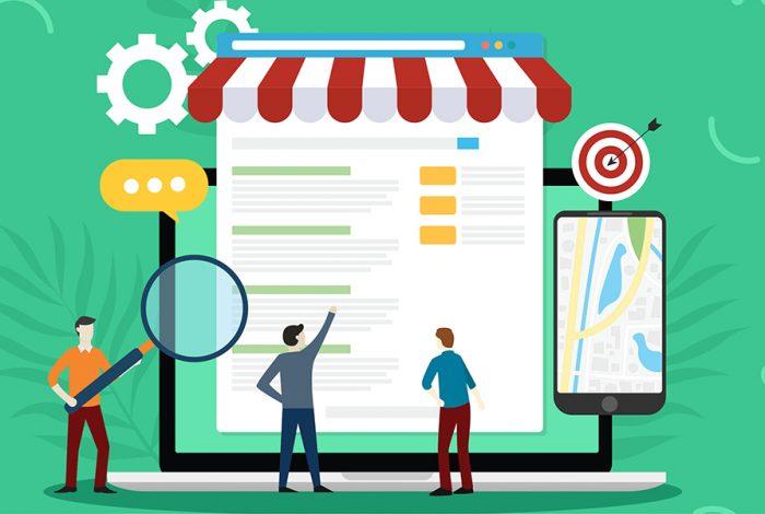 1. Lokale Listing Seiten finden & Präsenz zeigen